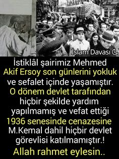 Mehmed Akif Ersoy'un cenazesi.. Ftm, Facebook Sign Up, Karma, Islam, Memes, Meme