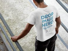 New! T-Shirt Mockup of a Young Man Walking Down a Ramp. Try it here: https://placeit.net/c/apparel/stages/t-shirt-mockup-of-a-young-man-walking-down-a-ramp-6096a