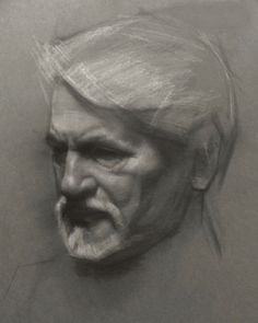 Drawing Demo Charcoal Portraits by David Kassan