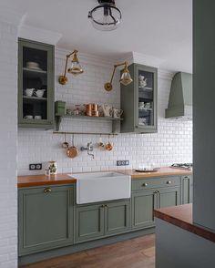 Wyjątkowa, inna. Podoba się Wam?⠀ ▫️▫️▫️▫️▫️⠀ Obserwuj ➡️ @homeasy.kitchen⬅️⠀ dla codziennej dawki wnętrzarskich inspiracji ▫️▫️▫️▫️▫️⠀… Home Decor Kitchen, Classic Home Decor, Kitchen Design Small, Kitchen Decor, Cheap Home Decor, Gothic Home Decor, House Interior, Minimalist Home Interior, Kitchen Design
