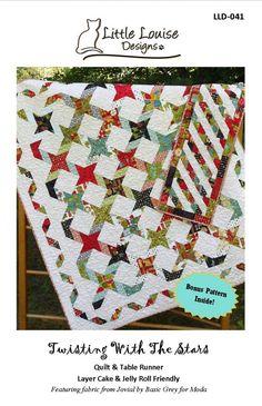 Twisting With The Stars – PDF Pattern « Farm Fresh Fabrics