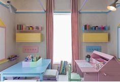 """142 curtidas, 3 comentários - Uniflex Persianas e Cortinas (@uniflex) no Instagram: """"Para começar a semana leve, quarto de bebê por @diegorevollo com rolo Uniflex. Candy Room na…"""""""