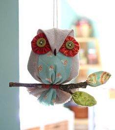 PatchworkPottery: Teacup Coaster & an Owl