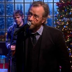 "Video: The National, Gregg Allman, and Stephen Colbert sing ""Silver Bells"" on The Colbert Report"