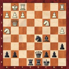 Daily Chess Training Tactics From this week's TWIC download: Bivol-Ali Marandi Saint Louis 2018 Black to move - how should he best continue? (more than the first move needed for a complete answer)