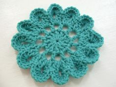 Would you like yarn with that?: Japanese Flower Motif--FREE pattern!! For the Flower Bed Blanket