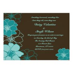 Chocolate Sky Invite