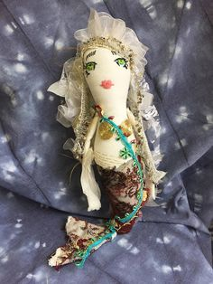 Porcelain And China Info: 3515779548 Mermaid Dolls, Mermaid Art, Mermaid Style, Porcelain Insulator, Wraps, China Dolls, Lace Scarf, Hello Dolly, Fancy