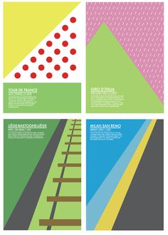 Really cool cycling posters