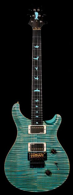 PRS Custom 24 Private Stock 4783 Faded Turquoise