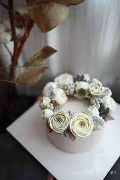 cool january flower cake : 네이버 블로그