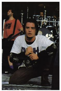mike patton...everything he does is GOLD... so hot and BRILLIANT. Favorite music man of all time