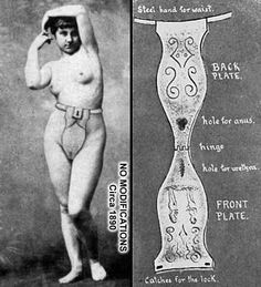 chastity belt comfortable and sanitary Old Advertisements, Arte Pop, Medical History, Interesting History, Interesting Photos, Old Ads, The Good Old Days, Macabre, Vintage Ads