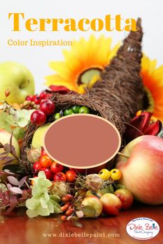 Terracotta is a rich color that gives you the feel of an adobe home. Great for Thanksgiving and autumn! A perfect fall color. Shop from Dixie Belle Paint now! Orange Painted Furniture, Porch Plants, Florida Oranges, Adobe House, Dixie Belle Paint, Mineral Paint, Paint Cans, Muted Colors, Autumn