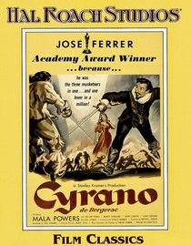 Directed by Michael Gordon. With José Ferrer, Mala Powers, William Prince, Morris Carnovsky. The charismatic swordsman-poet helps another woo the woman he loves in this straightforward version of the play. Two Movies, Great Movies, Movies To Watch, Movies And Tv Shows, Movie Gifs, Movie Props, Movie Tv, Netflix, Turner Classic Movies