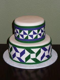 Gorgeous Quilt cake