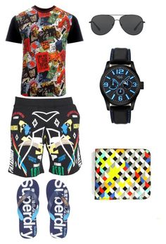 """male colorful collection"" by zbanapolyvore ❤ liked on Polyvore featuring Marcelo Burlon, Vivienne Westwood Man, Superdry, Michael Kors, Tovi Sorga, men's fashion and menswear"