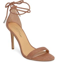 A go-to sandal created by Zendaya and her stylist Law Roach keeps your look on point with a minimalist profile and wraparound ankle strap.