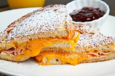 Monte Cristos are my favorite kind of sandwich, so I'm going to try this french-toast-style version this weekend!
