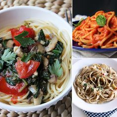 !!! All yummy!!   Cut Back on Dairy and Fat With 18 Vegan Pasta Dishes
