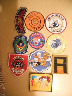10 DIFF MILITARY PATCHES-LOT    23