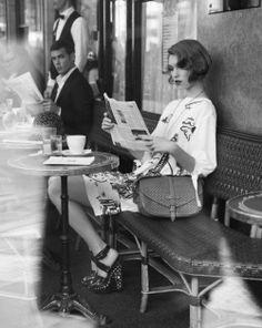 cafe culture Paris