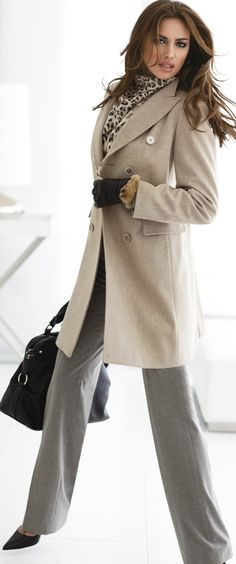 For my beige trenchcoat Office Fashion, Work Fashion, Fashion Looks, Classic Fashion, Beige Trenchcoat, How To Have Style, Look Office, Office Style, Office Chic