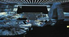 How the originalStar Wars trilogy fooled everyone with matte paintings