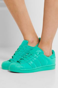 Adidas Originals | Superstar Adicolor reflective leather sneakers | NET-A-PORTER.COM