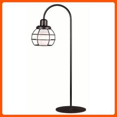 Kenroy Home 32702ORB Caged Table Lamp, Oil Rubbed Bronze Finish - Unique lighting lamps (*Amazon Partner-Link)