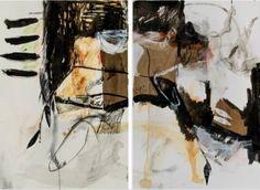 """Saatchi Art Artist danielle lauzon; Painting, """"Dyptique"""" #art"""