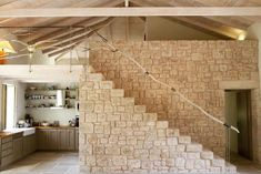 Renovated residence in Mani. Architecture, Stairs, Cast Stone, Flooring, Antique, Amazing, Home Decor, Arquitetura, Stairway