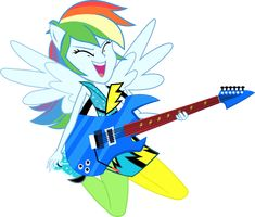 EqG Rainbow Dash: Rainbow Rocks by seahawk270 on DeviantArt