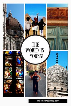 Travel the World, It's Waiting for You!