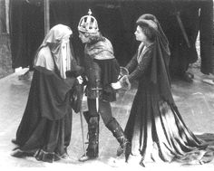 Kevin Gardiner as Richard III, 1977 #calshakes40th