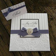 Handmade Wedding Invitations | Glamorous' Handmade wedding invitation | Wedding & Venues | Gumtree ...