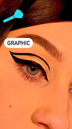 Makeup Tutorial Eyeliner, No Eyeliner Makeup, Skin Makeup, Natural Eyeliner Tutorial, Cat Eye Eyeliner, How To Do Eyeliner, Eyeliner Ideas, Eyeliner Looks, How To Apply Eyeshadow