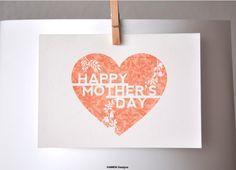 FREE Mother's Day Card for Kids
