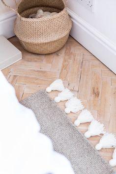 DIY Easy Tasseled Rug | Fall For DIY