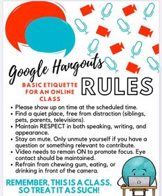 Online Classroom, High School Classroom, Classroom Rules, Google Classroom, School Resources, Learning Resources, Teacher Resources, Teaching Technology, Blended Learning