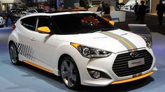 Hyundai debuted the 2013 Veloster Turbo at the Detroit Auto Show earlier this year, adding some more oomph and a more aggressive look to the funky three-doo