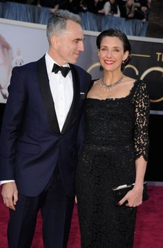 Daniel Day-Lewis and Rebecca Miller - Oscars Red Carpet - February 24, 2013
