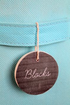 create these chalkboard style labels in Microsoft Word Toy Storage Solutions, Chalkboard Labels, Toy Boxes, Storage Organization, Organizing, Getting Organized, Glass Pendants, Craft Gifts, Playroom