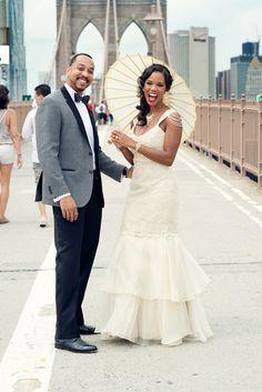 Ama & Gary's Good Morning America Real Wedding! - Blackbride.com