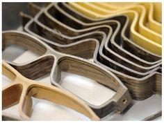 Herrlicht hand crafted wooden glasses.