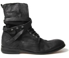 Hudson Shoes | Yorke Black Boot