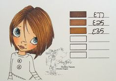Heather's Hobbie Haven: Hair Color 57 - Copic Markers...