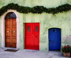 love this...  My love of unique doorways meets my love for everything Alice in Wonderland!