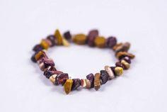GENUINE MOOKAITE STONE Single Chip Bracelet  #Bracelets See more! https://lalamotifs.com/product/genuine-mookaite-stone-single-chip-bracelet/