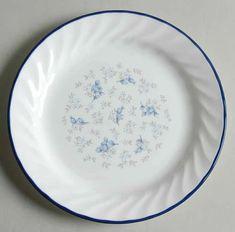Correlle Dishes, Corelle Patterns, Vegetable Bowl, Blue Plates, China Patterns, Salad Plates, China Dinnerware, Serving Platters, Dinner Plates